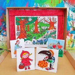 Il mio teatrino delle marionette | Cappuccetto Rosso