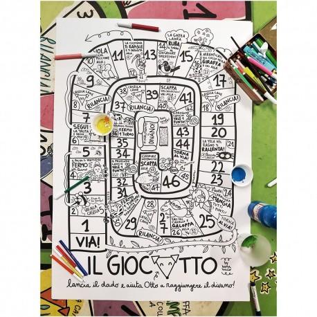 Giocotto | Maxi poster da colorare