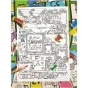 Il mio sogno nel cassetto | Poster da colorare