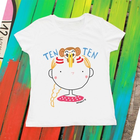 Ten Ten Ten | T-shirt donna Burabacio