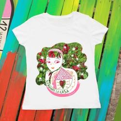 Ritrovare la casa | T-shirt donna Burabacio