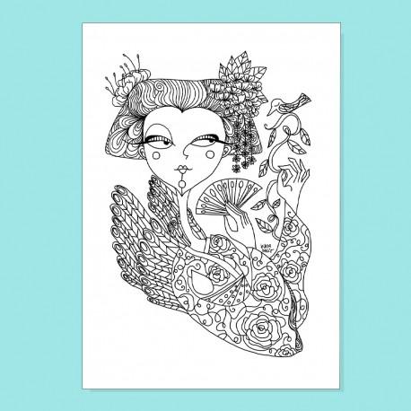 Geisha   Stampa