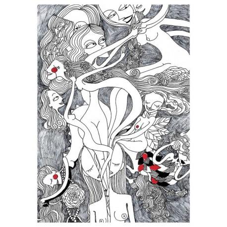 Donne in rinascita | Stampe Burabacio