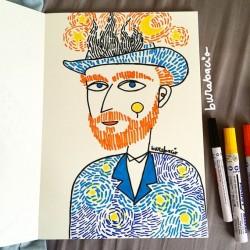 Van Gogh | Poster Burabacio