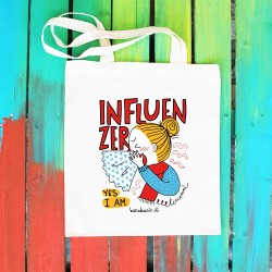 Influenzer | Borsa shopper in cotone