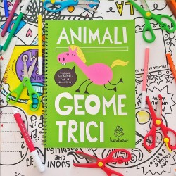 Animali Geometrici | Activity book per bambini