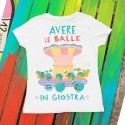 Avere le balle in giostra | T-shirt donna