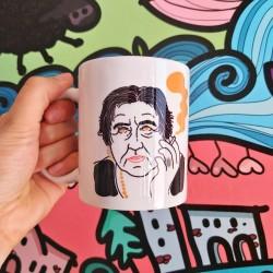 Amore mio (Alda Merini) | Tazza colazione