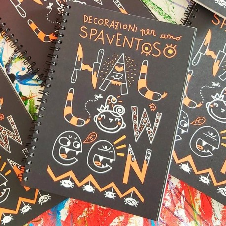 Decorazioni per uno spaventoso Halloween   Activity book