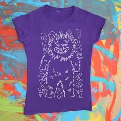 Mostro Peloso | T-shirt donna