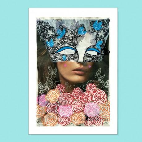 Io voglio le rose   Ciclo Donne di Carta   Stampa