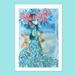 Io sono fiore | Ciclo Donne di Carta | Stampa