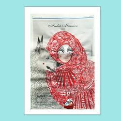 Io sono Cappuccetto Rosso | Ciclo Donne di Carta | Stampa