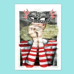Io non parlo | Ciclo Donne di Carta | Stampa| Stampa
