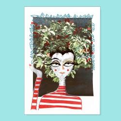 Io sono un frutto | Ciclo Donne di Carta | Stampa
