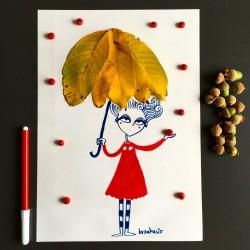 Ombrello | Stampe | Burabacio