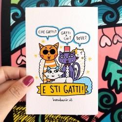 E sti gatti | Biglietto