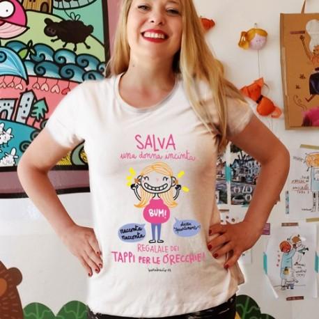 Salva una donna incinta | T-shirt donna