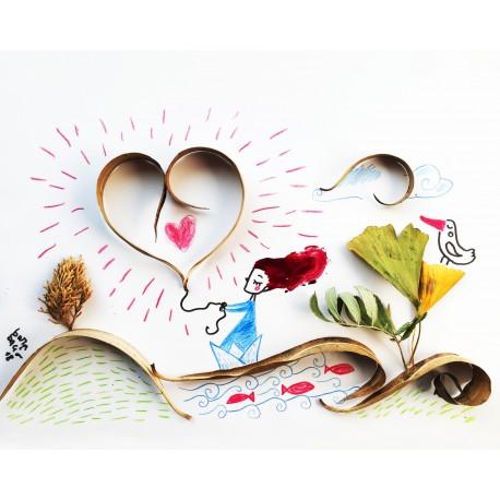 Segui il tuo cuore | Stampe | Burabacio
