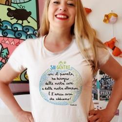 Sii Gentile con il Pianeta | T-shirt donna