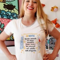 Sii gentile quando commetti un errore | T-shirt donna