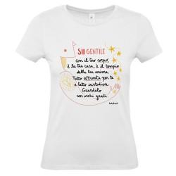 Sii gentile con il tuo corpo | T-shirt donna