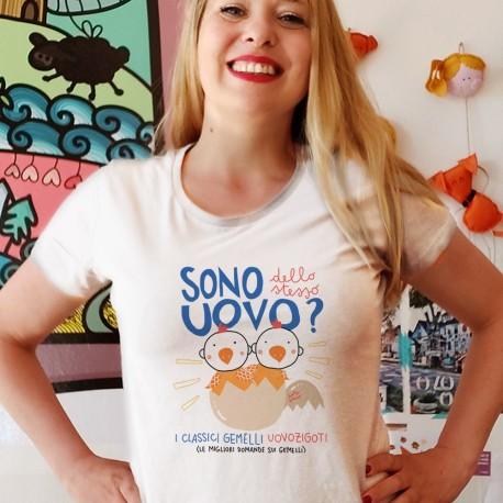 Uovozigoti   T-shirt donna Burabacio