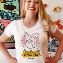 Non rompere i coniglioni | T-shirt da donna Burabacio
