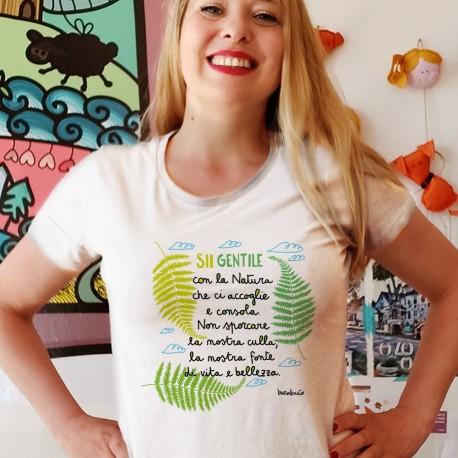 Sii gentile | T-shirt donna