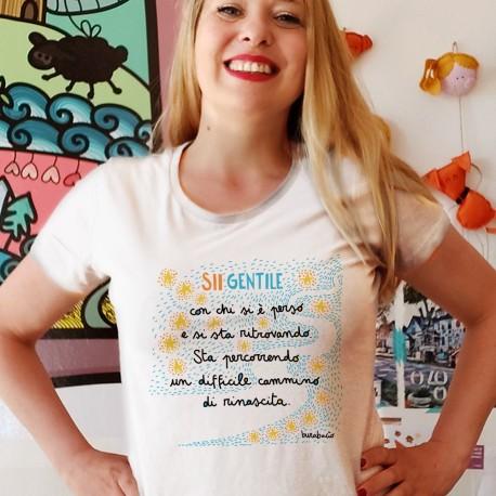 Sii gentile con chi si è perso | T-shirt donna