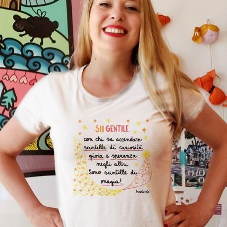 Sii gentile   T-shirt donna