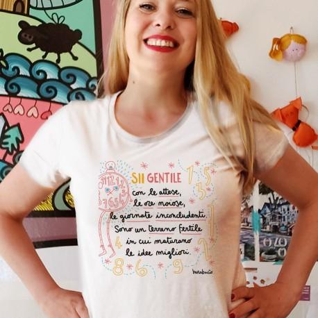 Sii gentile con la noia | T-shirt donna