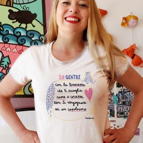 Sii gentile con la tenerezza | T-shirt donna