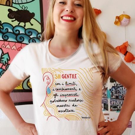 Sii gentile con i tuoi limiti | T-shirt donna