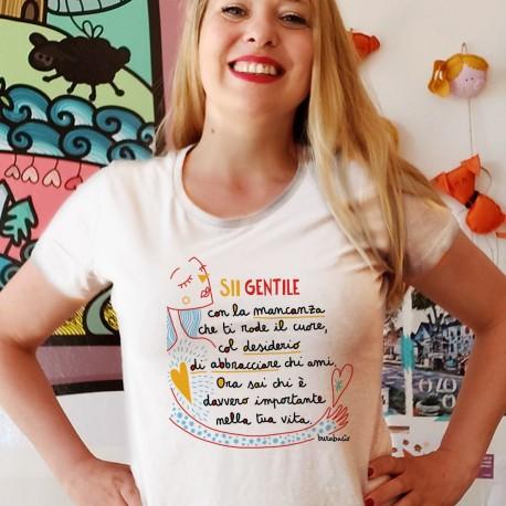 Sii gentile con la mancanza | T-shirt donna