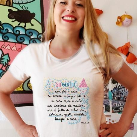 Sii gentile con chi è rifugio | T-shirt donna