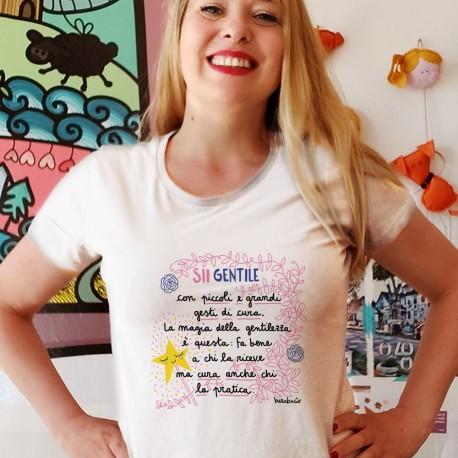 Sii gentile con i gesti di cura | T-shirt donna