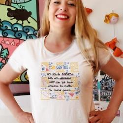 Sii gentile con chi ti sostiene | T-shirt donna