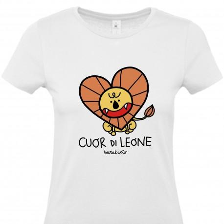 Cuor di Leone | T-shirt donna Burabacio