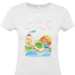 Abbraccio lontano | T-shirt donna