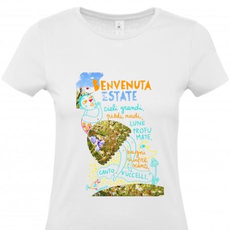 Benvenuta estate | T-shirt donna