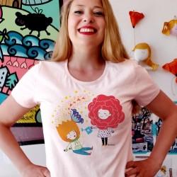Coltiva il talento | T-shirt donna Burabacio