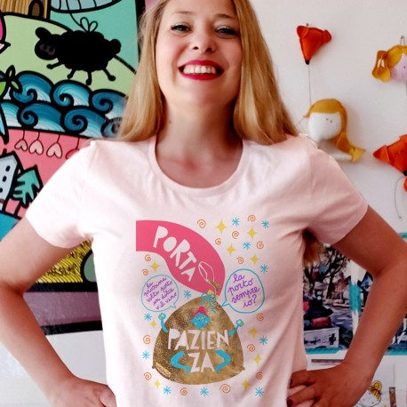 Porta pazienza | T-shirt donna
