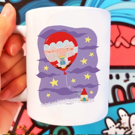 Babbo Natale pallincino | Tazza colazione