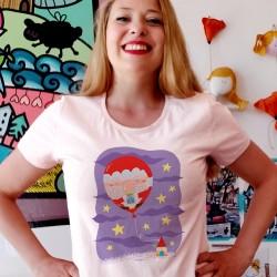 Babbo Natale palloncino   T-shirt