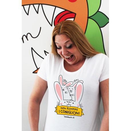 T-shirt da donna Burabacio
