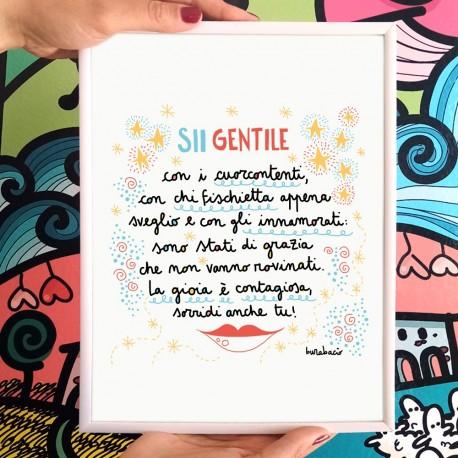 Sii gentile con i cuorcontenti | Stampa