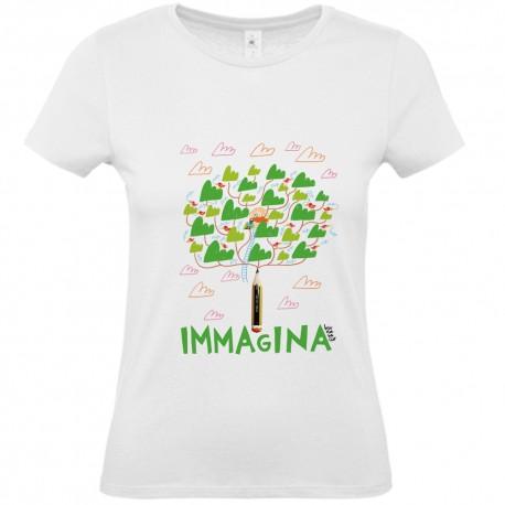 Immagina   T-shirt donna Burabacio