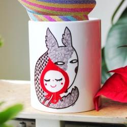 Cappuccetto Rosso e il Lupo | Tazza colazione
