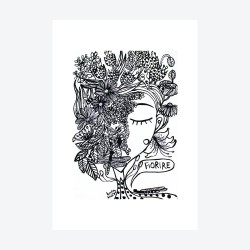 Fiorire | Ciclo Etty Hillesum | Stampa